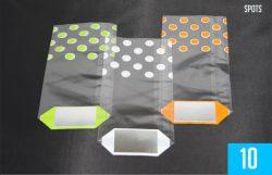 Spots Green / White / Orange