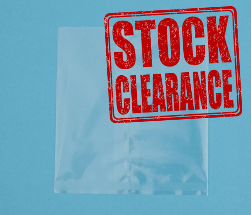 Clearance for Crimp bags