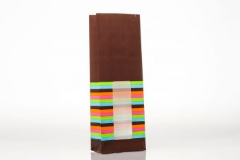 SOS Coloured Stripes Chocolate